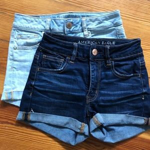 American Eagle 2 for 1! Size 0 shorts lot!